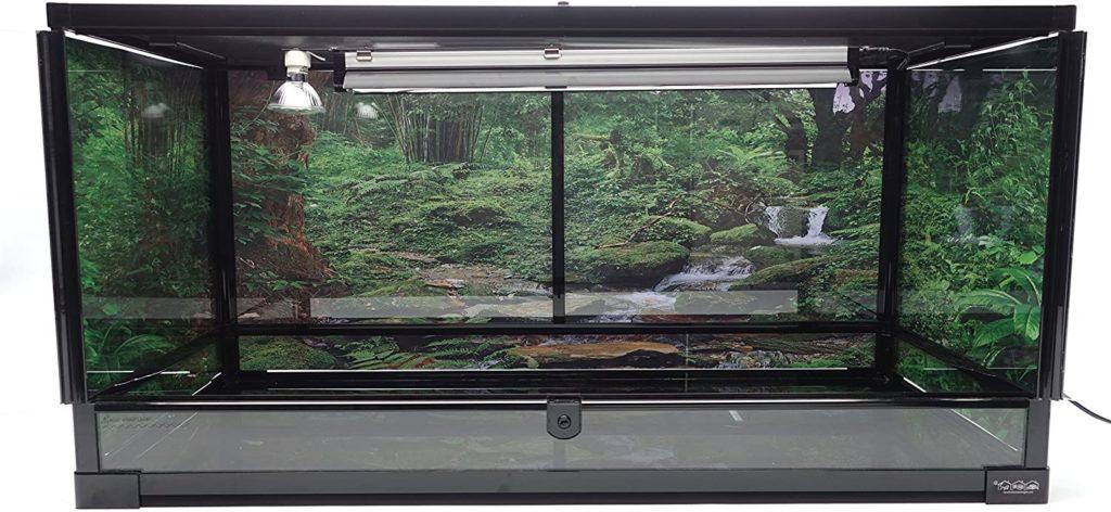 Front opening terrarium 40 gallon